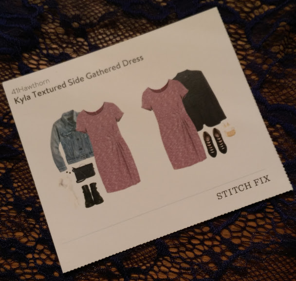 41Hawthorn Kyla Textured Side Gathered Dress @stitchfix stitch fix https://www.stitchfix.com/referral/3590654