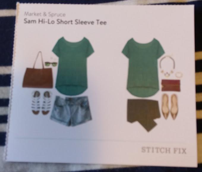 Market & Spruce Sam Hi-Lo Short Sleeve Tee
