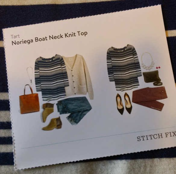 Tart Noriega Boat Neck Knit Top
